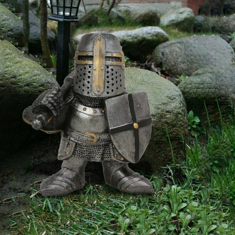 (🔥Summer Hot Sale - Save 50% OFF) 🏰Knight Gnomes Guard, Buy 3 Free Shipping