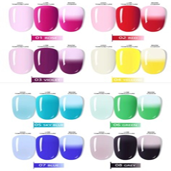 (New Products Limited Time Sale)Translucent Series Nail Extension Gel - Changes Color With Temperature
