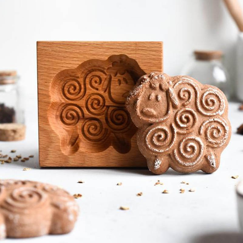 Cookie Cutter - Sheep Cookie Stamp
