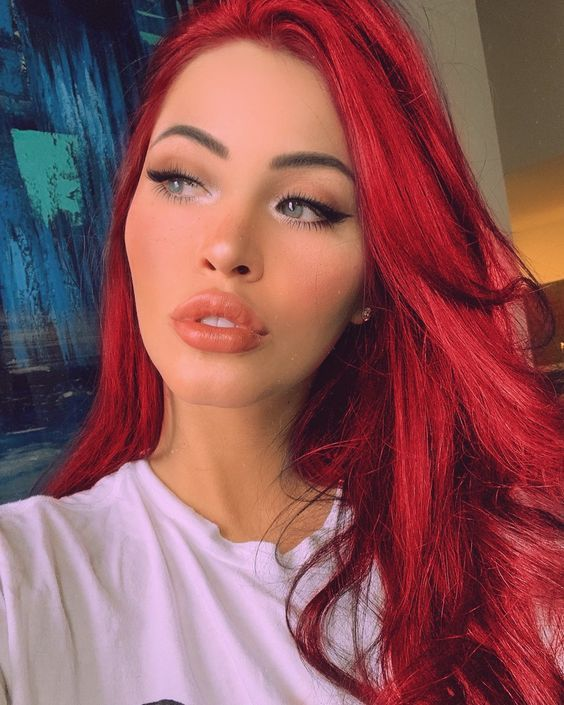 Red Wigs Lace Front American Hairstyle Brown With Red Highlights Hairstyle Simple Boy Business Hairstyles 1930S Hairstyles Asian Hairstyles