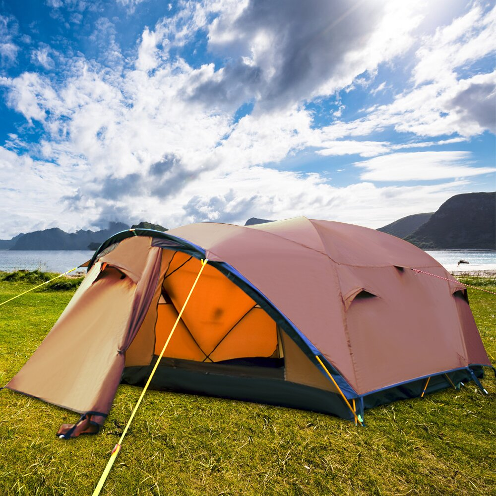 😍28.99$ Promotional Clearance⏰ ❗❗Outdoor Lightweight Family Camping Tent&Tent Necessary Lights