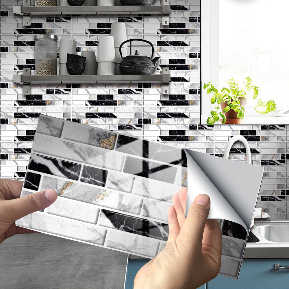 [New Arrival-Hot Sale] Creative Home Beautification 3D Tile Stickers