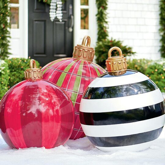 Outdoor Christmas inflatable Decorated Ball-Golden🎉Christmas pre-sale 40% off