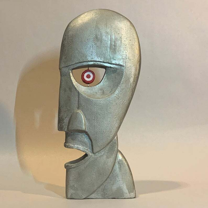 Division Bell Pink Floyd Sculpture Heads