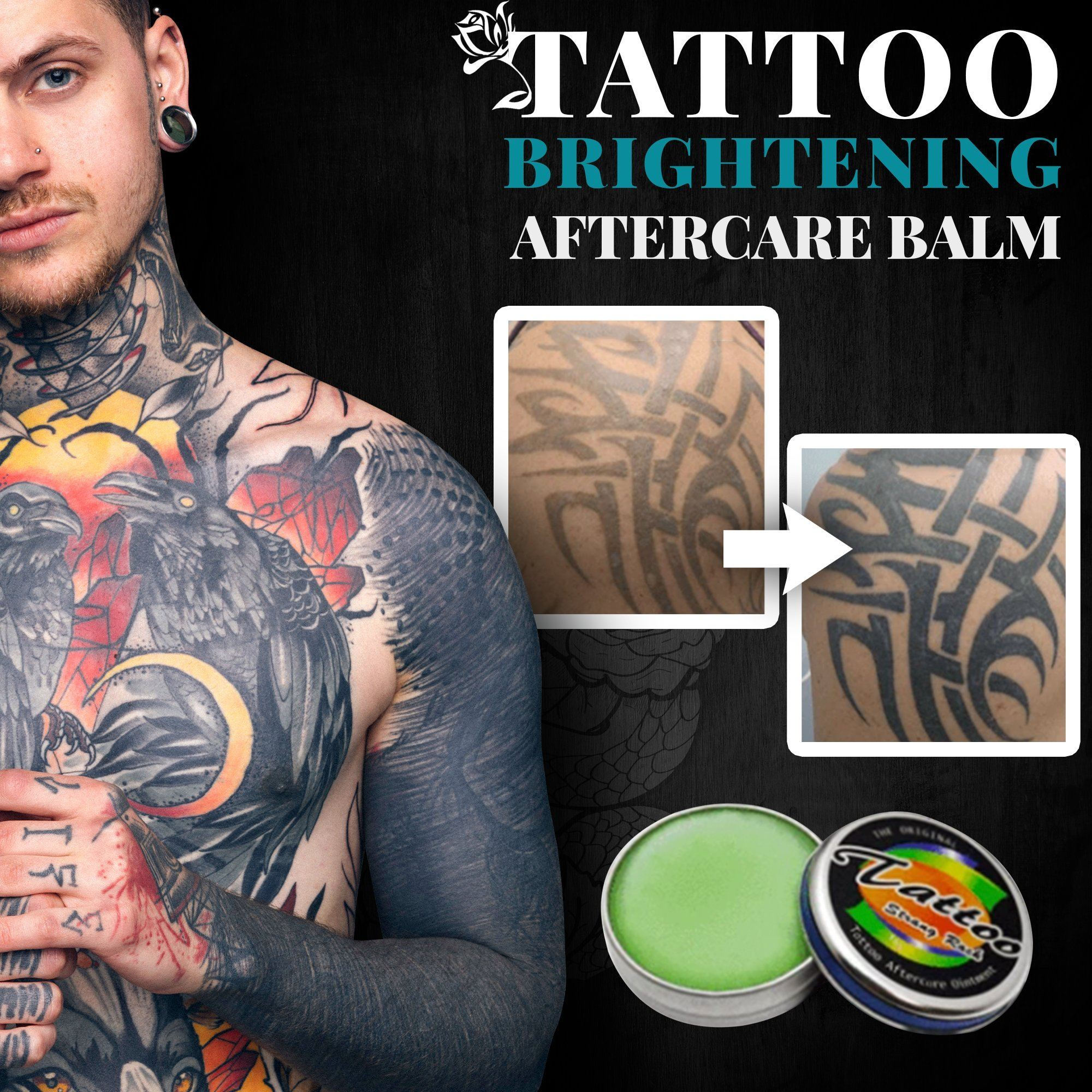 [Buy 1 Get 1 Free] Tattoo Brightening Aftercare Balm