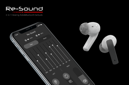 🦻Re-Sound Pro 2 in 1 Hearing Aid Smart Bluetooth Earbuds