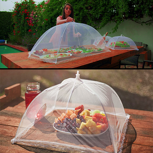 (Buy 1 Get 1 Free) Large Mesh Screen Cover for Food