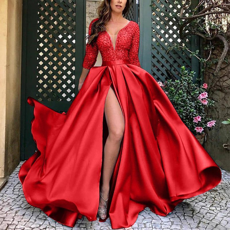 Sexy tail party evening dress