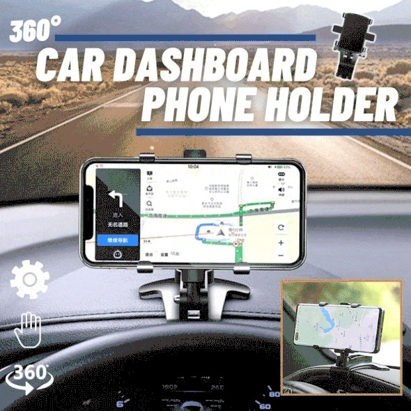 Summer Hot Sale 50% OFF - Multifunctional Car Dashboard Phone Holder(Buy 2 Get 1 Free Now)
