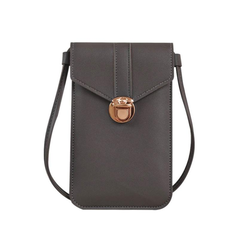 (🎄Early Christmas Sale NOW-50% OFF)Touchable Phone Bag & Leather Wallet -Buy 3 FREE SHIPPING