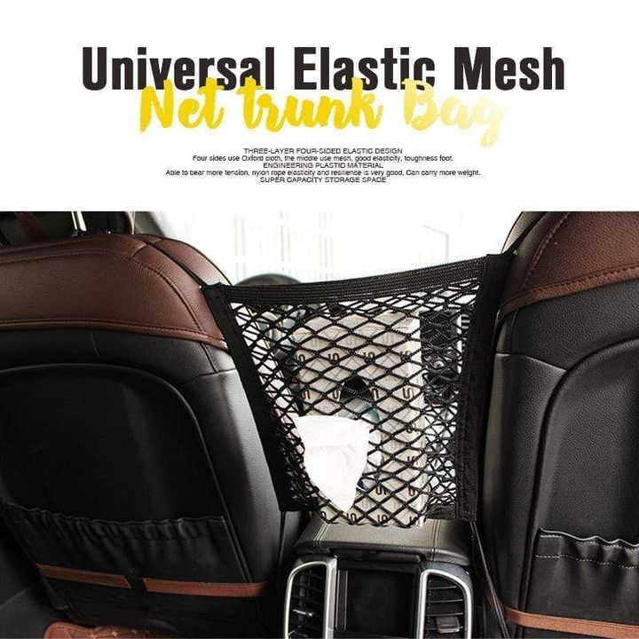 (Father's Day Sale-50% OFF) Universal Elastic Mesh Net Trunk Bag