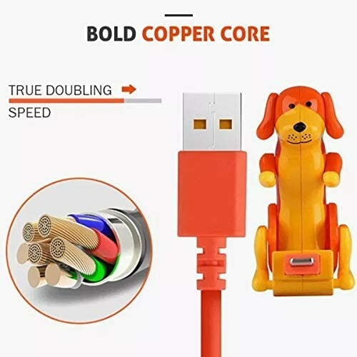 (❤️Father's Day Flash Sale - 50% OFF)Funny Humping Dog Fast Charger Cable , Buy 2 Get Extra 10% OFF