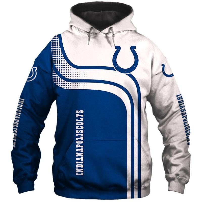 INDIANAPOLIS COLTS 3D HOODIE GGSA0127