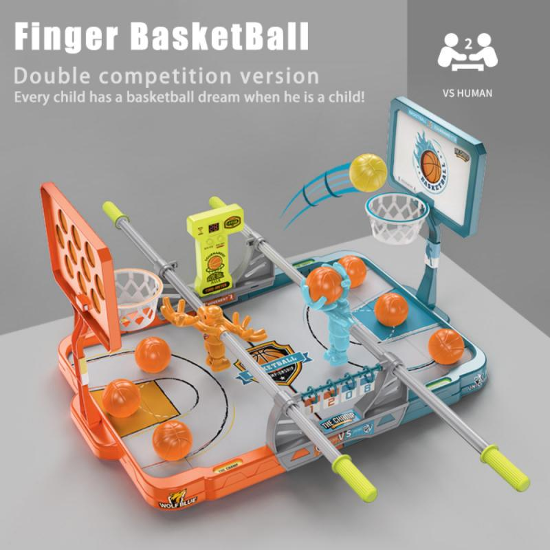 40% OFF🏀2021 New Basketball Table Game with Pool Hoop